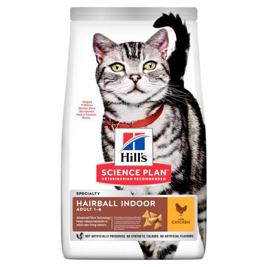 Hill's Science Plan Cat Indoor and Hairball Control 1.5kg