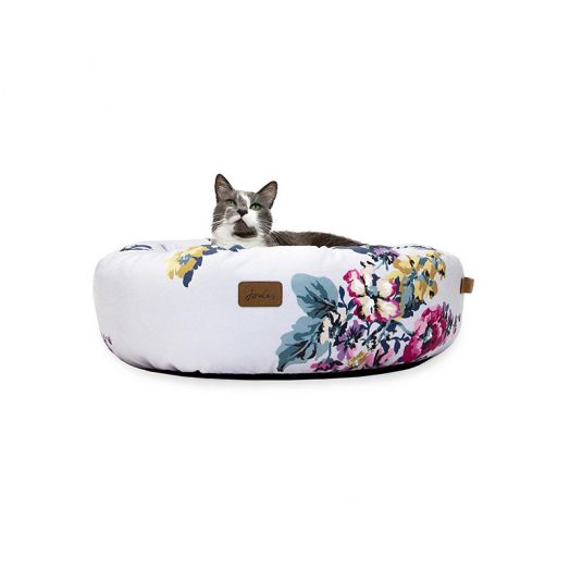 Joules Floral Donut Bed 58x58x18cm